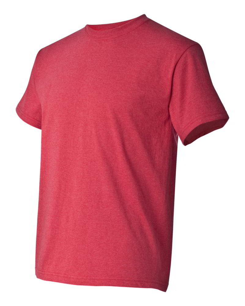 Gildan Heavy Cotton Short Sleeve Mens Red Pink Purple T