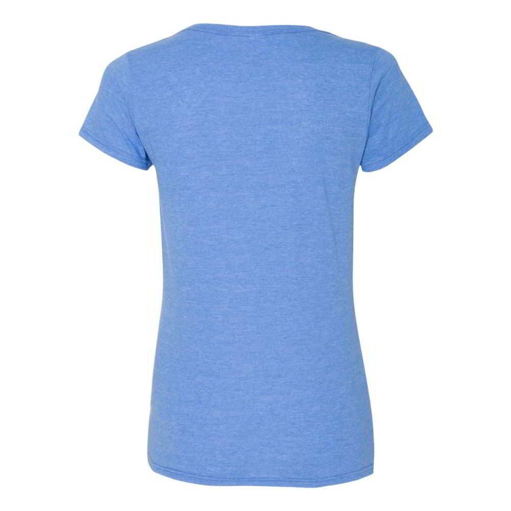 Gildan Softstyle® Women's Deep Scoop Neck Short Sleeve T-Shirt 64550L