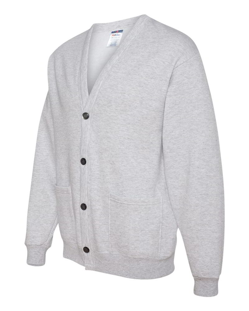 JERZEES 50/50 Mens Button NuBlend Cardigan Sweatshirt 773MPR | eBay