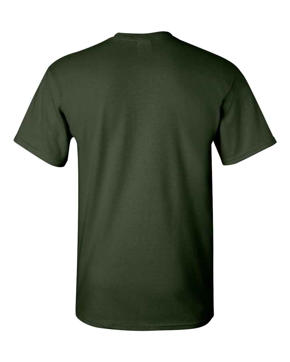 Gildan-Heavy-Cotton-Short-Sleeve-Mens-Green-T-Shirts-5000 thumbnail 8