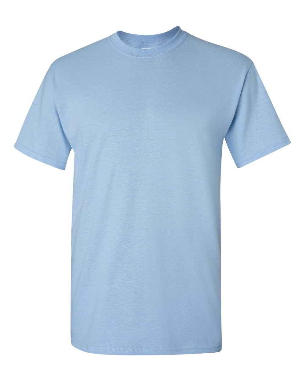 Gildan-Heavy-Cotton-Short-Sleeve-Mens-Blue-T-Shirts-5000 thumbnail 18
