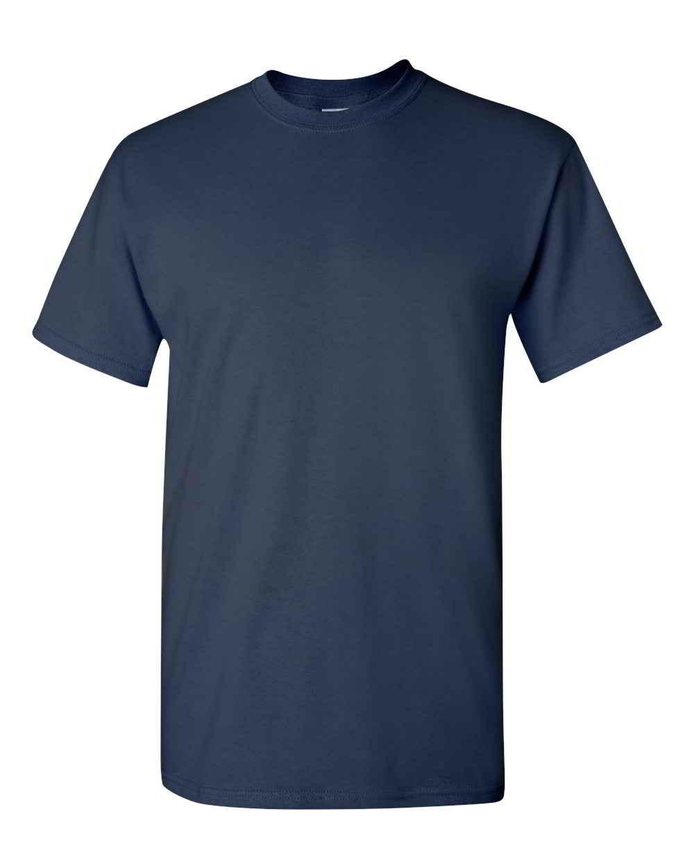 Gildan-Heavy-Cotton-Short-Sleeve-Mens-Blue-T-Shirts-5000 thumbnail 25
