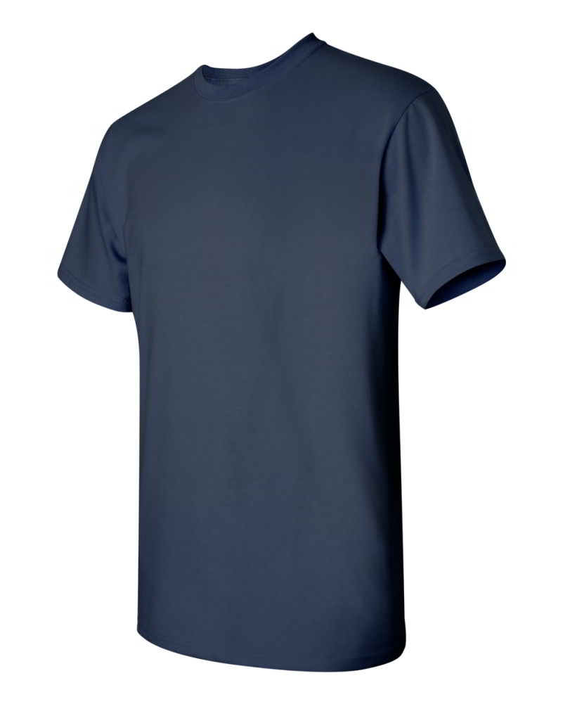 Gildan-Heavy-Cotton-Short-Sleeve-Mens-Blue-T-Shirts-5000 thumbnail 24