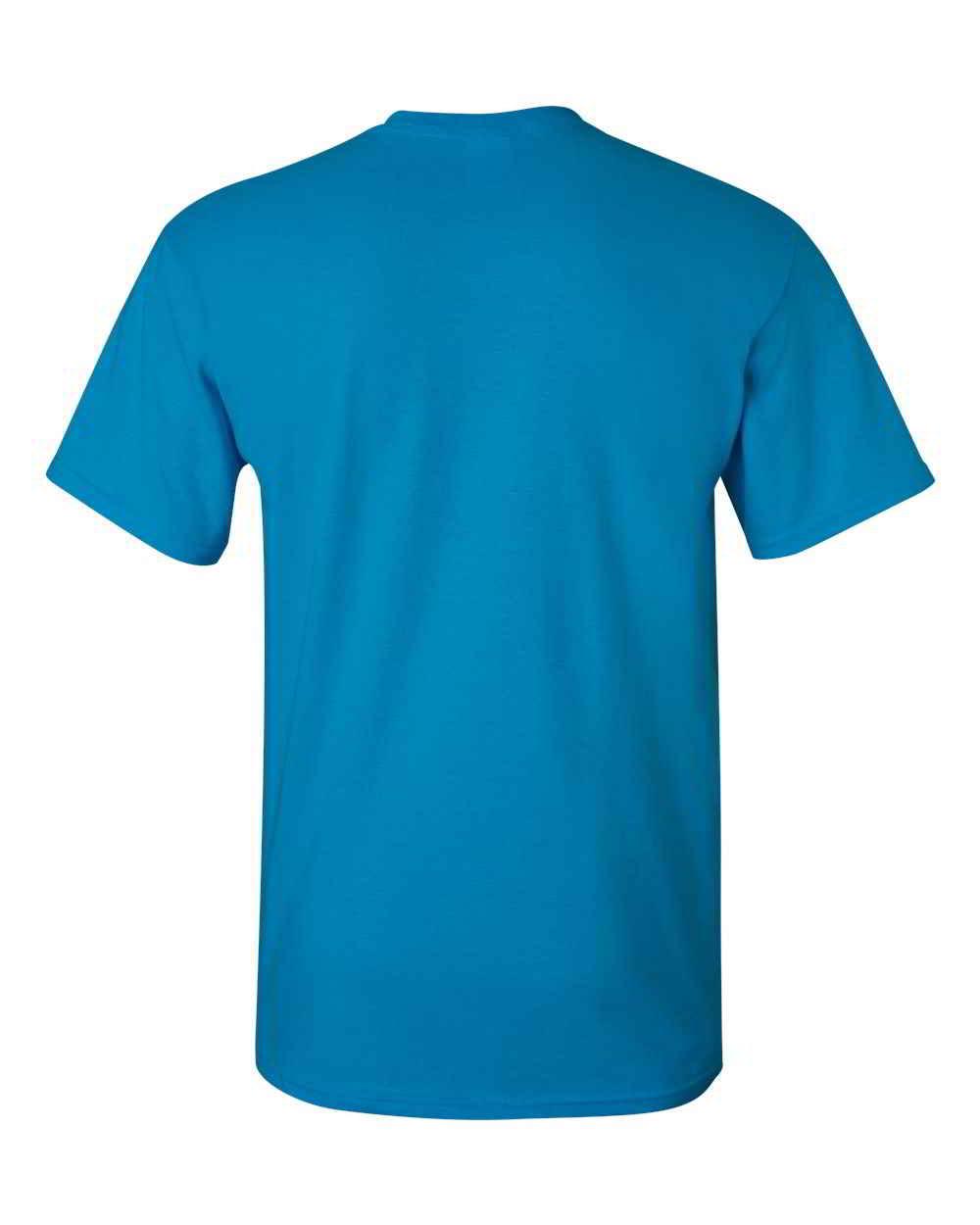 Gildan-Heavy-Cotton-Short-Sleeve-Mens-Blue-T-Shirts-5000 thumbnail 36