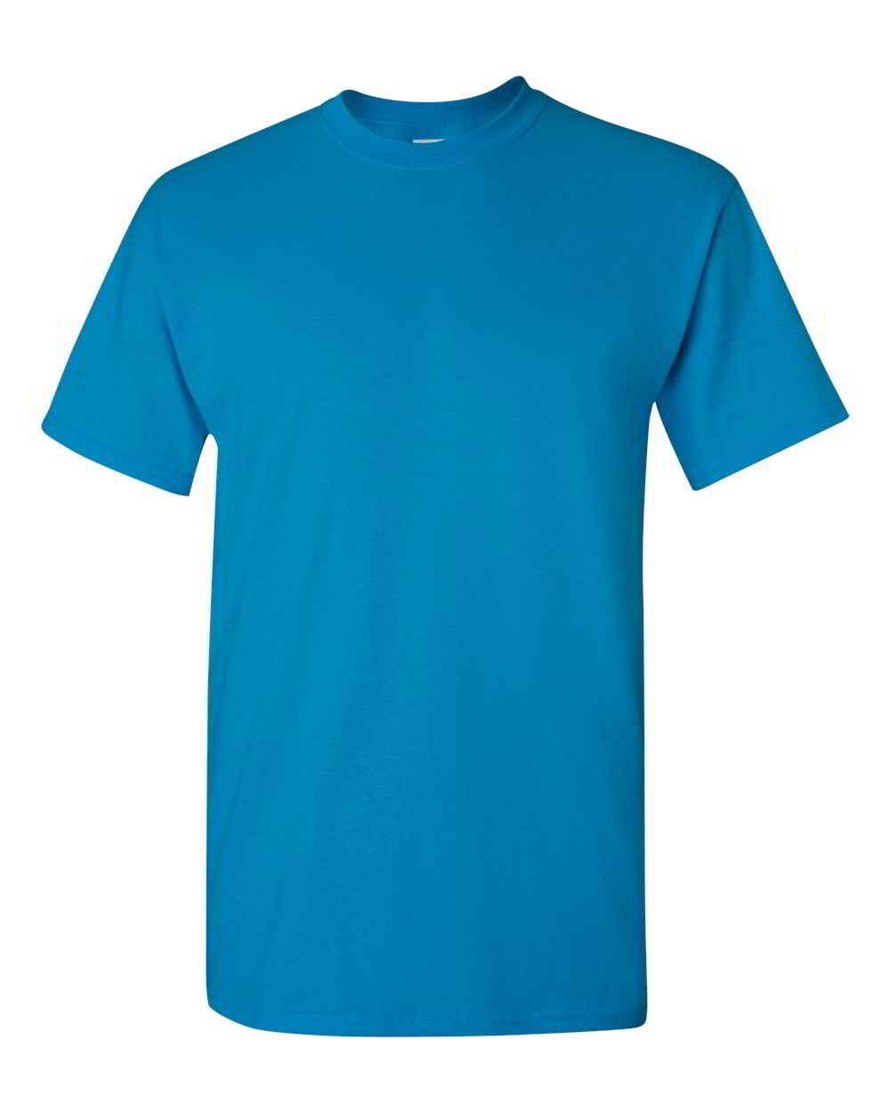Gildan-Heavy-Cotton-Short-Sleeve-Mens-Blue-T-Shirts-5000 thumbnail 35