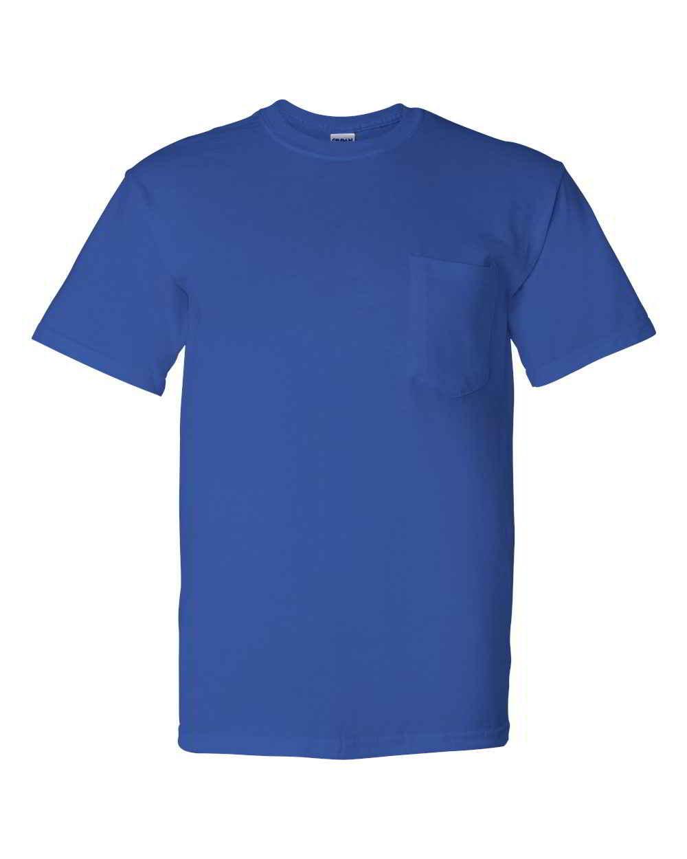 Gildan-DryBlend-Mens-50-50-Short-Sleeve-Tees-T-Shirt-with-a-Pocket thumbnail 11