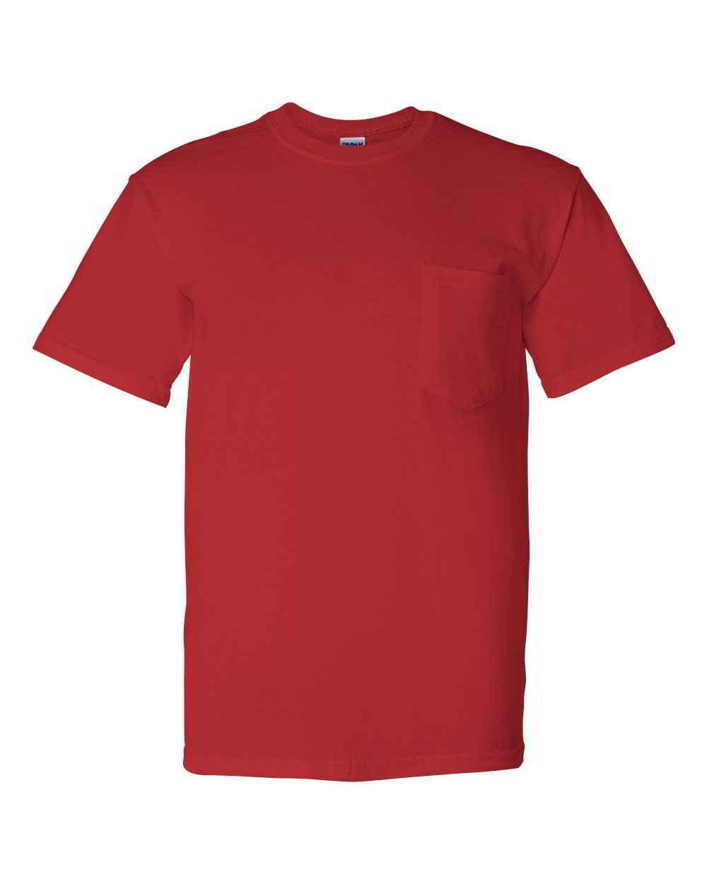Gildan-DryBlend-Mens-50-50-Short-Sleeve-Tees-T-Shirt-with-a-Pocket thumbnail 8