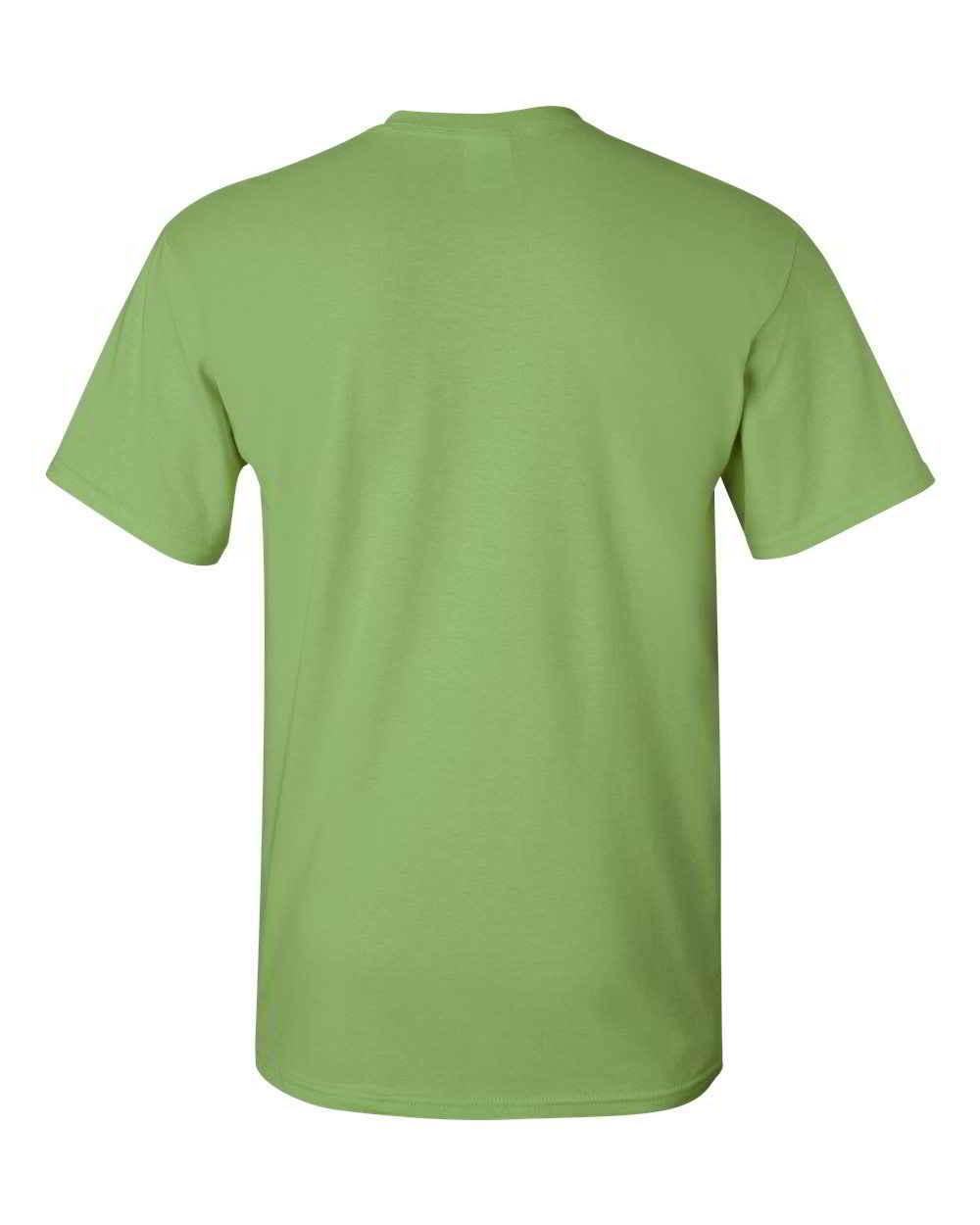 Gildan-Heavy-Cotton-Short-Sleeve-Mens-Green-T-Shirts-5000 thumbnail 17