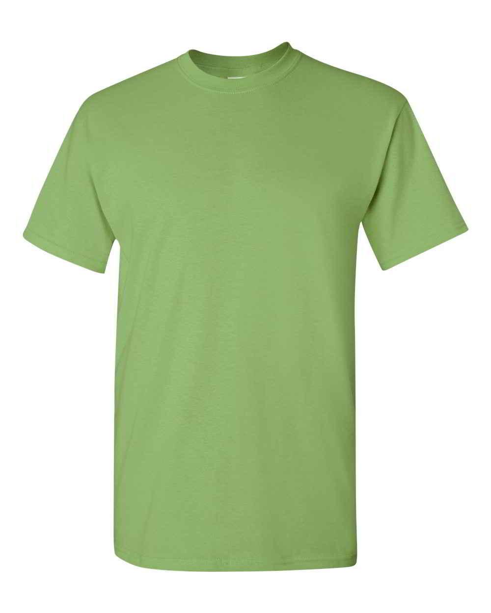 Gildan-Heavy-Cotton-Short-Sleeve-Mens-Green-T-Shirts-5000 thumbnail 16