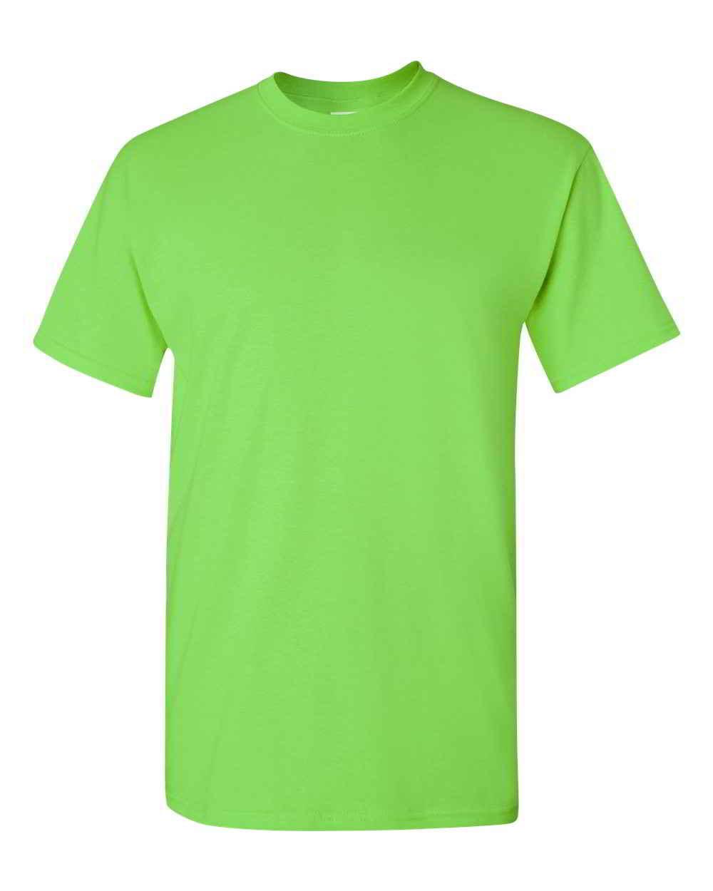 Gildan-Heavy-Cotton-Short-Sleeve-Mens-Green-T-Shirts-5000 thumbnail 19