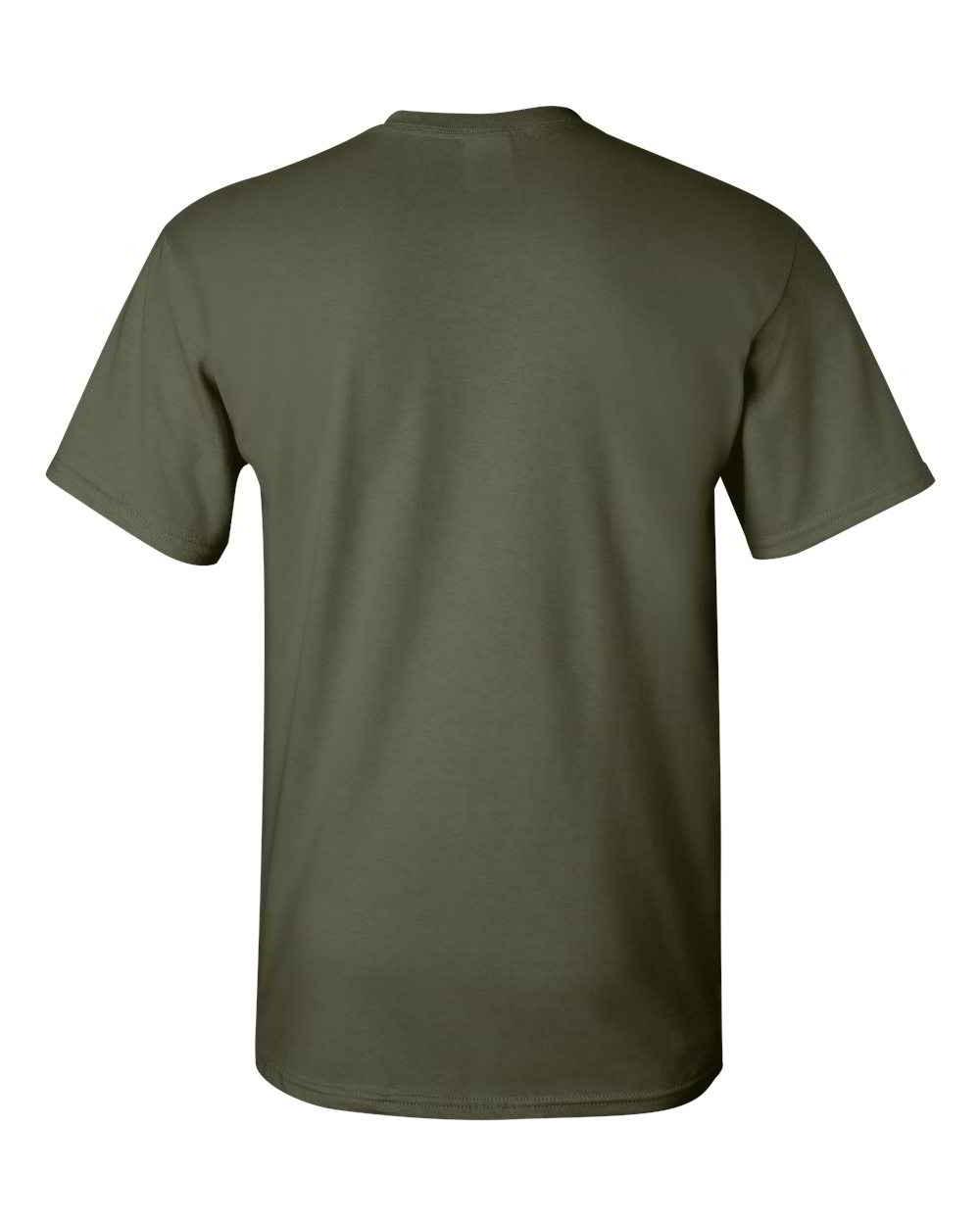 Gildan-Heavy-Cotton-Short-Sleeve-Mens-Green-T-Shirts-5000 thumbnail 23