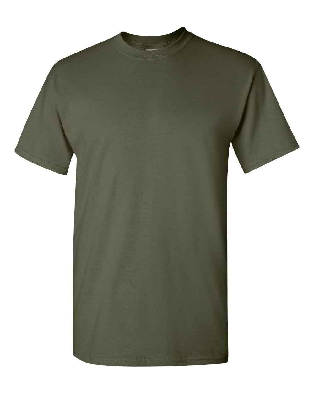 Gildan-Heavy-Cotton-Short-Sleeve-Mens-Green-T-Shirts-5000 thumbnail 22