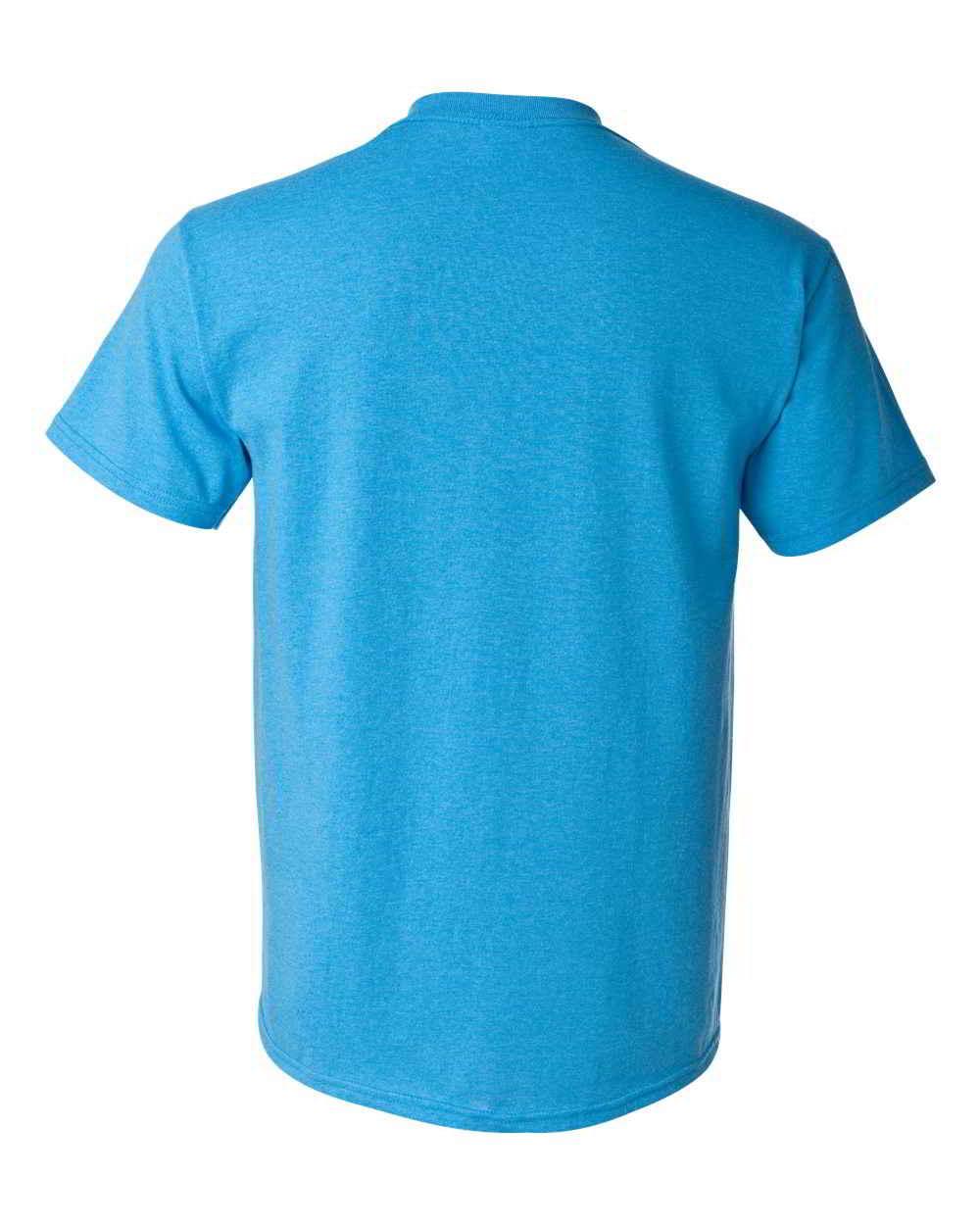 Gildan-Heavy-Cotton-Short-Sleeve-Mens-Blue-T-Shirts-5000 thumbnail 13