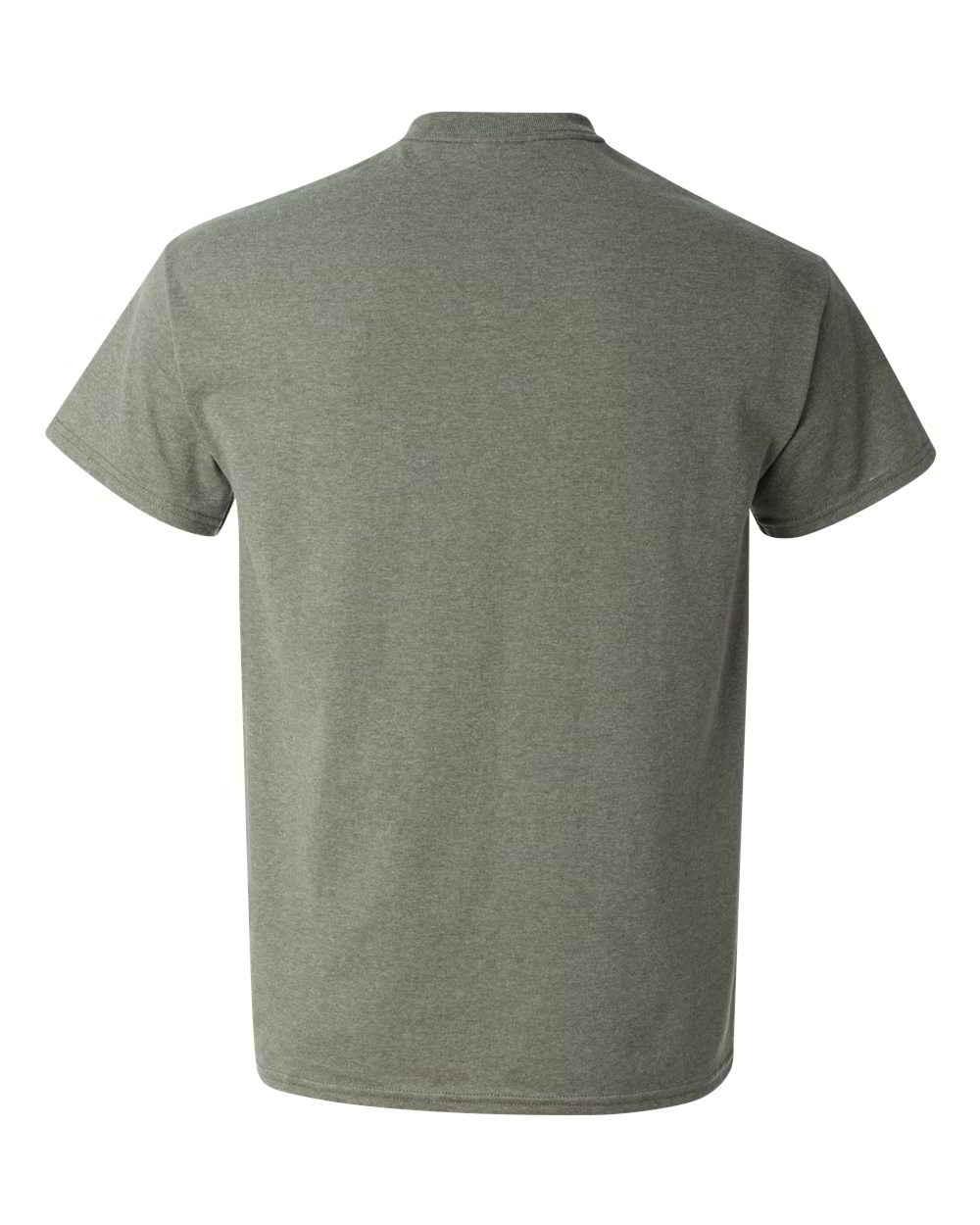 Gildan-Heavy-Cotton-Short-Sleeve-Mens-Green-T-Shirts-5000 thumbnail 11
