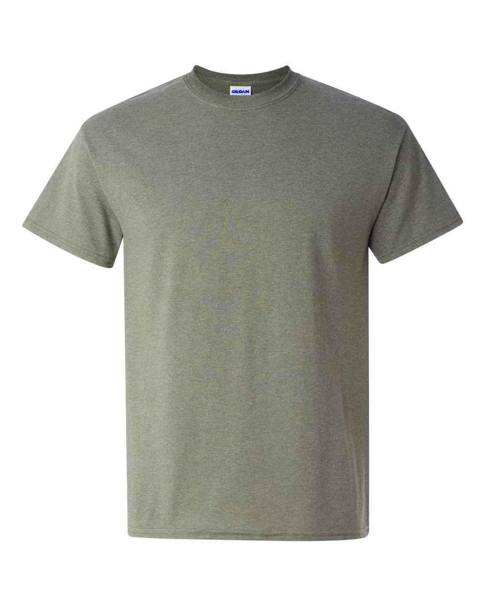 Gildan-Heavy-Cotton-Short-Sleeve-Mens-Green-T-Shirts-5000 thumbnail 10