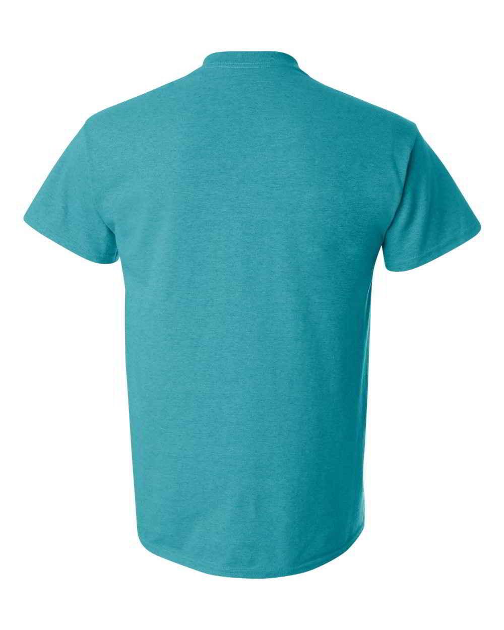 Gildan-Heavy-Cotton-Short-Sleeve-Mens-Blue-T-Shirts-5000 thumbnail 4