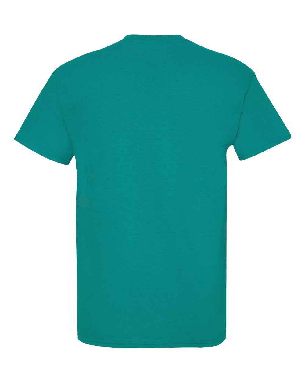 Gildan-Heavy-Cotton-Short-Sleeve-Mens-Blue-T-Shirts-5000 thumbnail 42