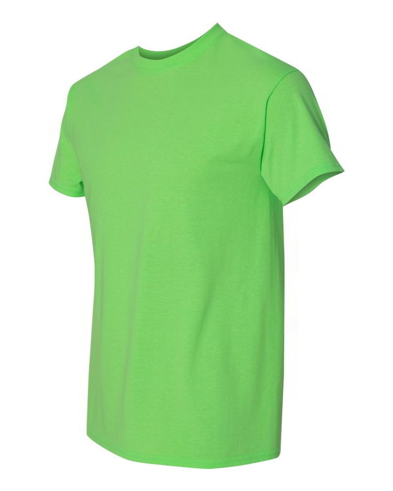 Gildan-Heavy-Cotton-Short-Sleeve-Mens-Green-T-Shirts-5000 thumbnail 28