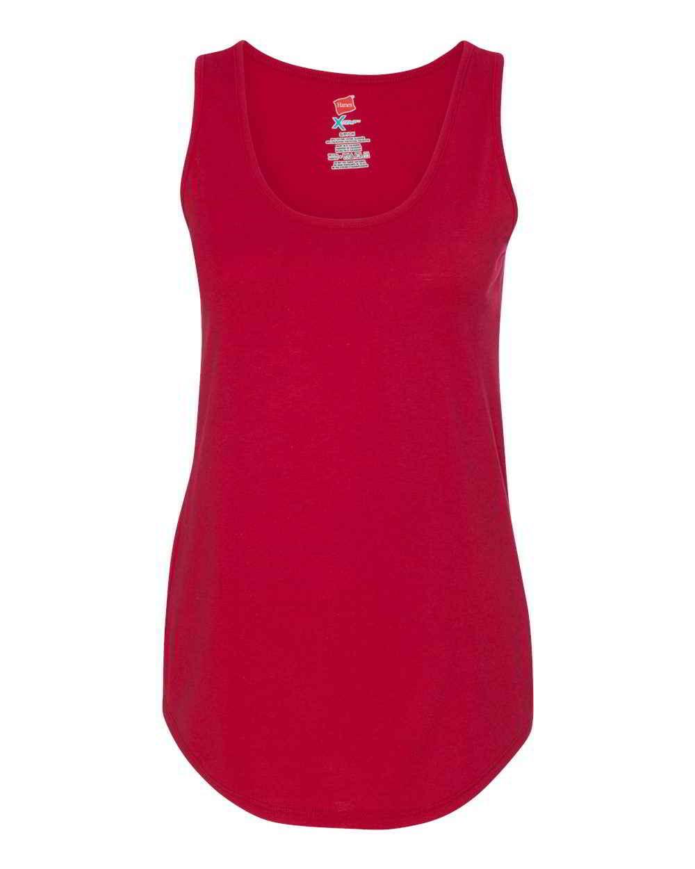 Hanes-Ladies-Moisture-Wicking-Shirts-Sleeveless-X-Temp-Women-039-s-Tank-Top thumbnail 6