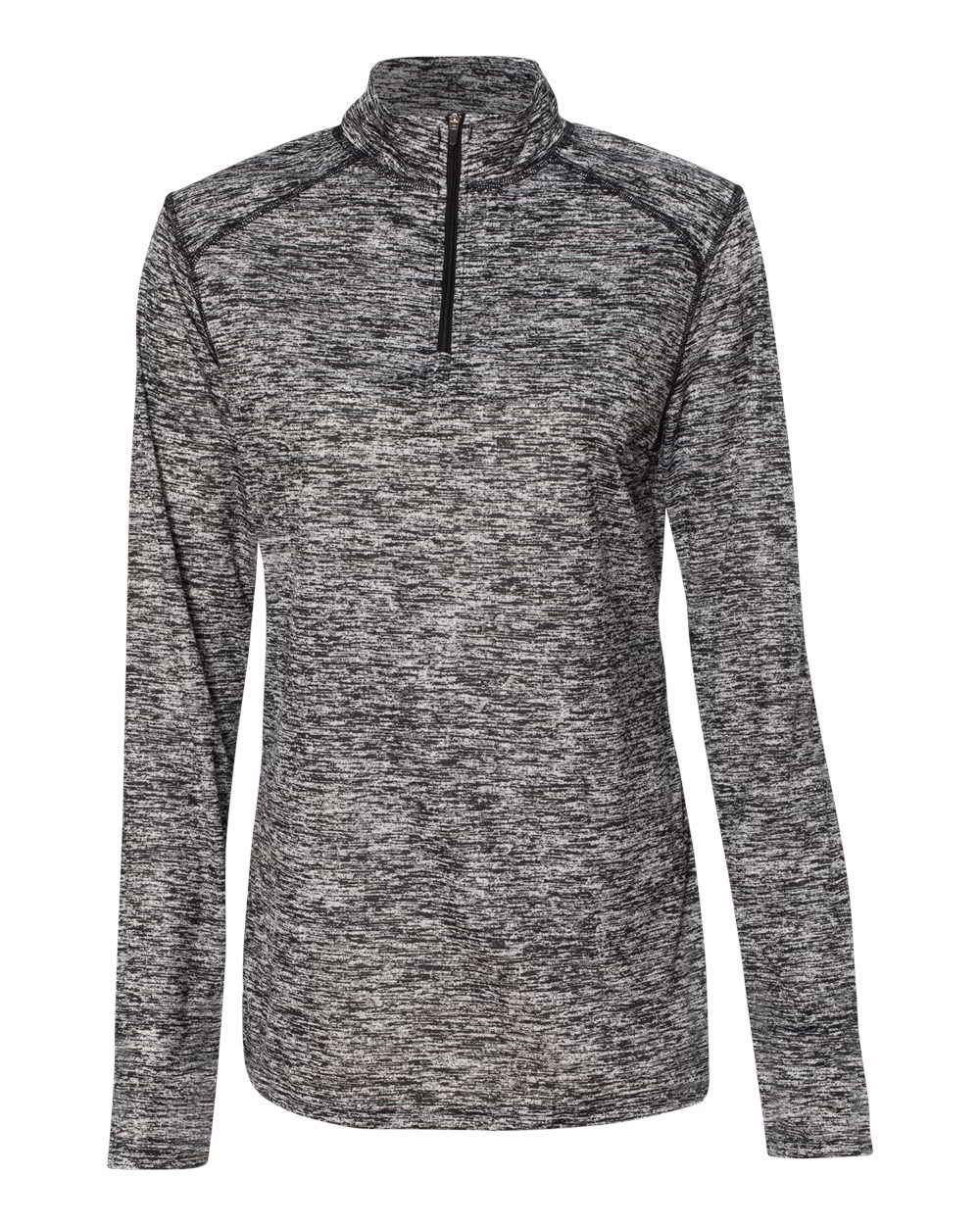 Badger donna Sleeve Blend Pullover Long Sweatshirt Ladies Women's da 66WzqT
