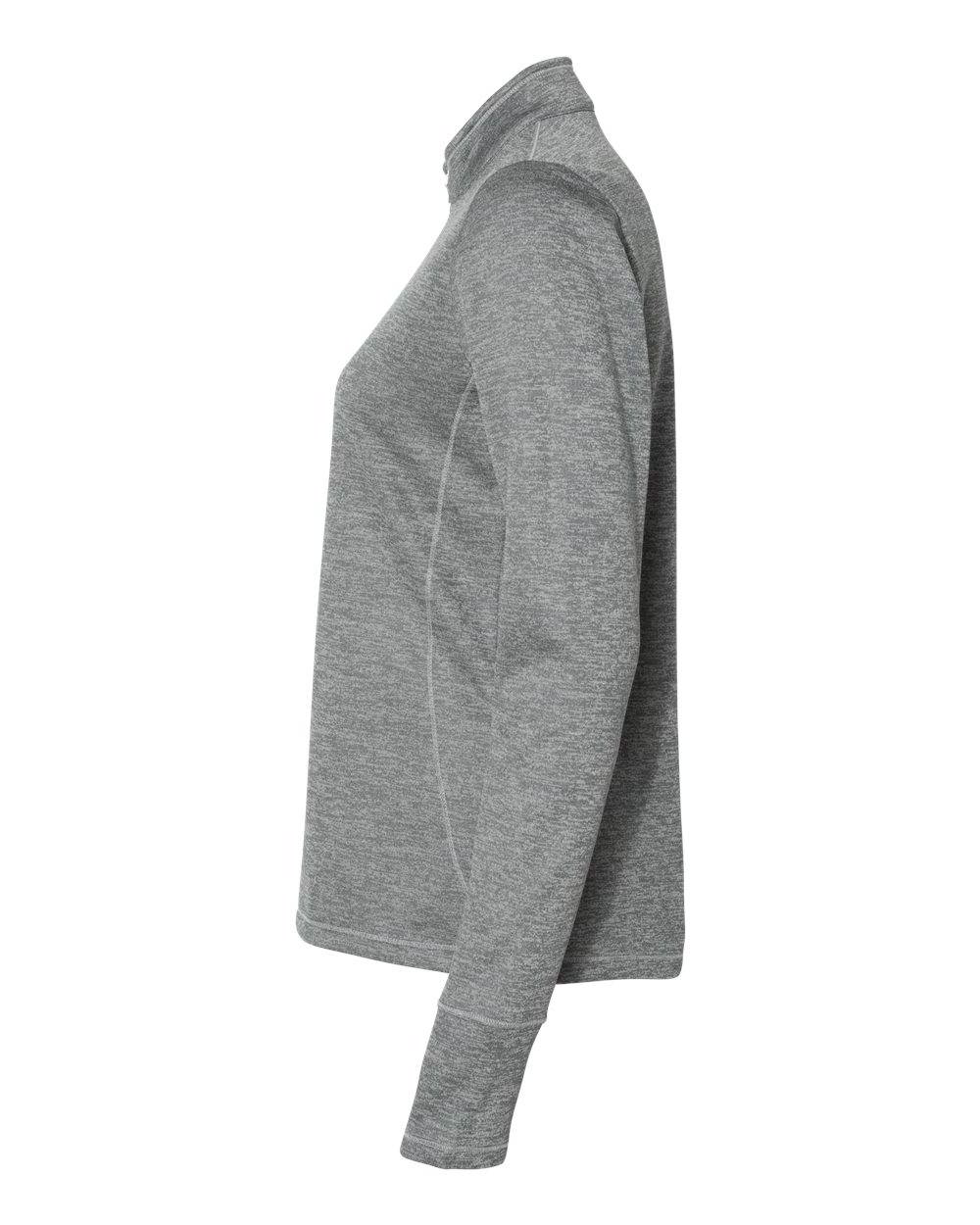 Adidas Women's Women's Women's Brushed Terry Heather Quarter-Zip Sweatshirt - A285 dff98d
