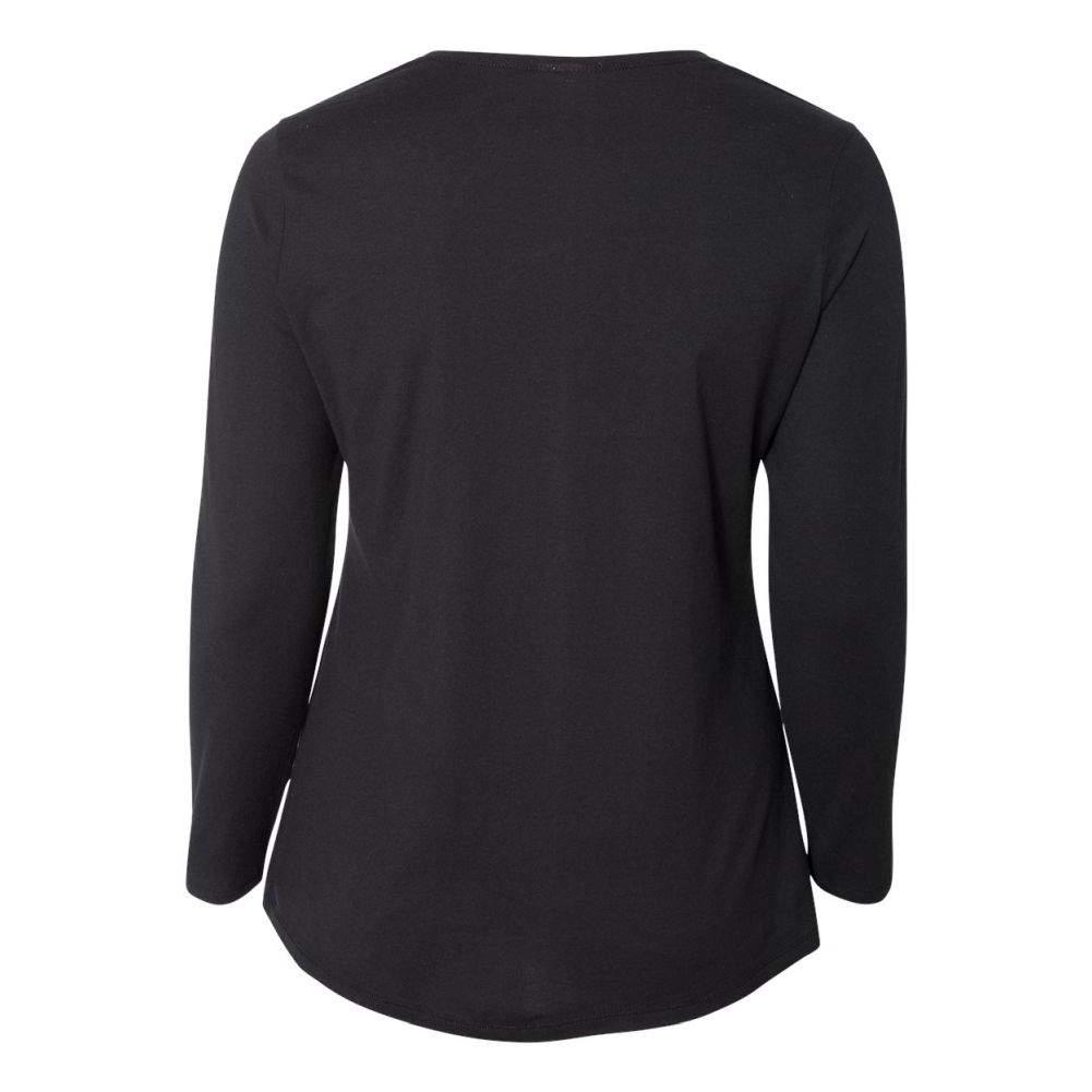 Just-My-Size-Women-039-s-Long-Sleeve-T-Shirt-JMS40 thumbnail 4