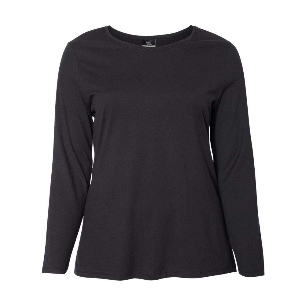 Just-My-Size-Women-039-s-Long-Sleeve-T-Shirt-JMS40 thumbnail 5