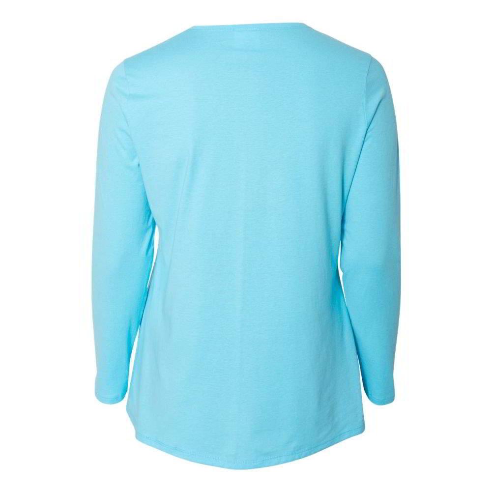 Just-My-Size-Women-039-s-Long-Sleeve-T-Shirt-JMS40 thumbnail 8