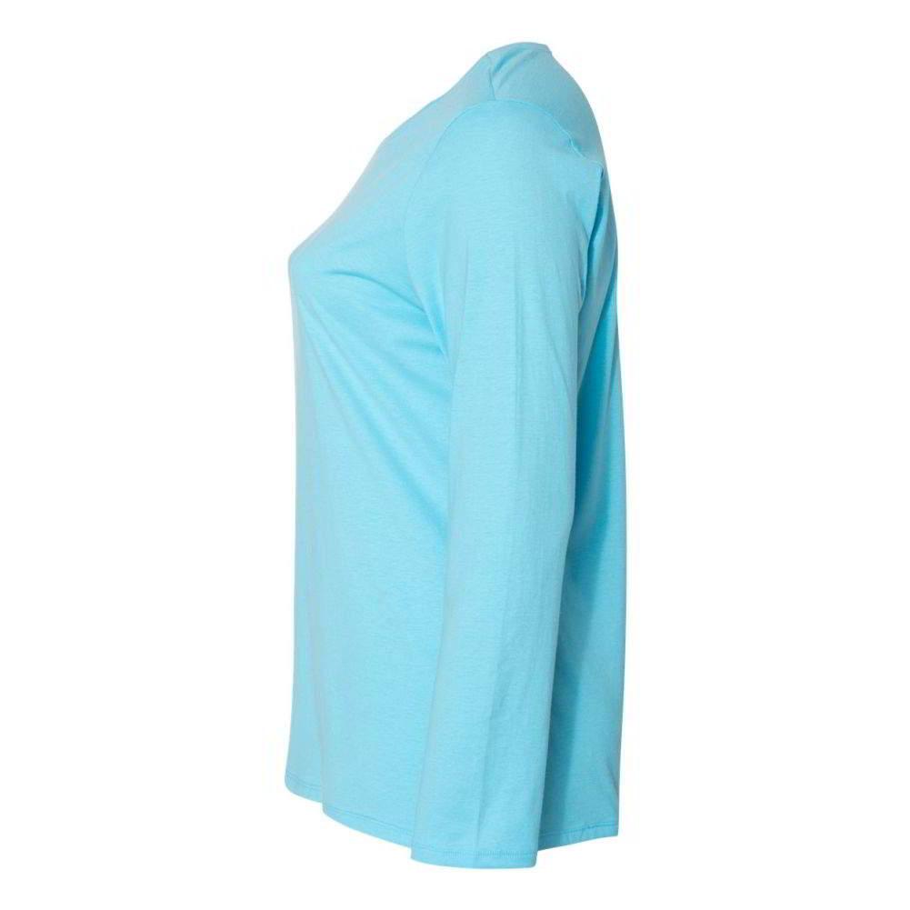 Just-My-Size-Women-039-s-Long-Sleeve-T-Shirt-JMS40 thumbnail 7