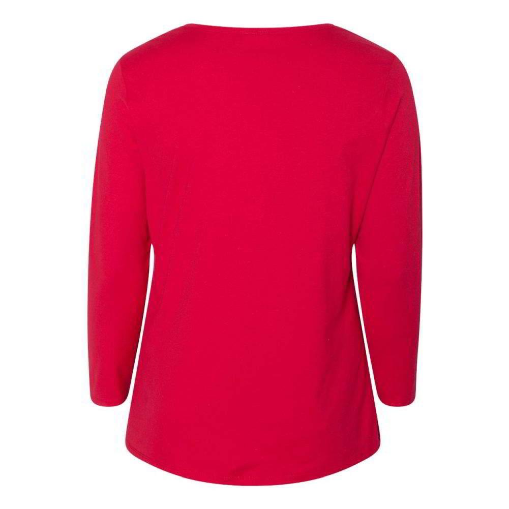Just-My-Size-Women-039-s-Long-Sleeve-T-Shirt-JMS40 thumbnail 12