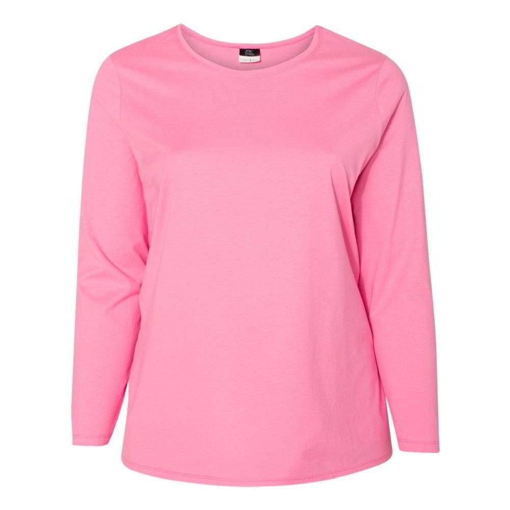 Just-My-Size-Women-039-s-Long-Sleeve-T-Shirt-JMS40 thumbnail 17
