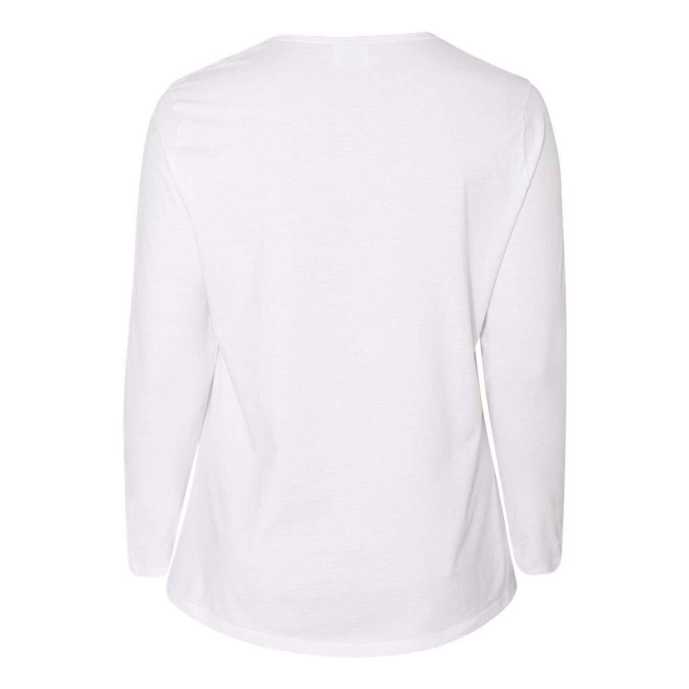 Just-My-Size-Women-039-s-Long-Sleeve-T-Shirt-JMS40 thumbnail 20