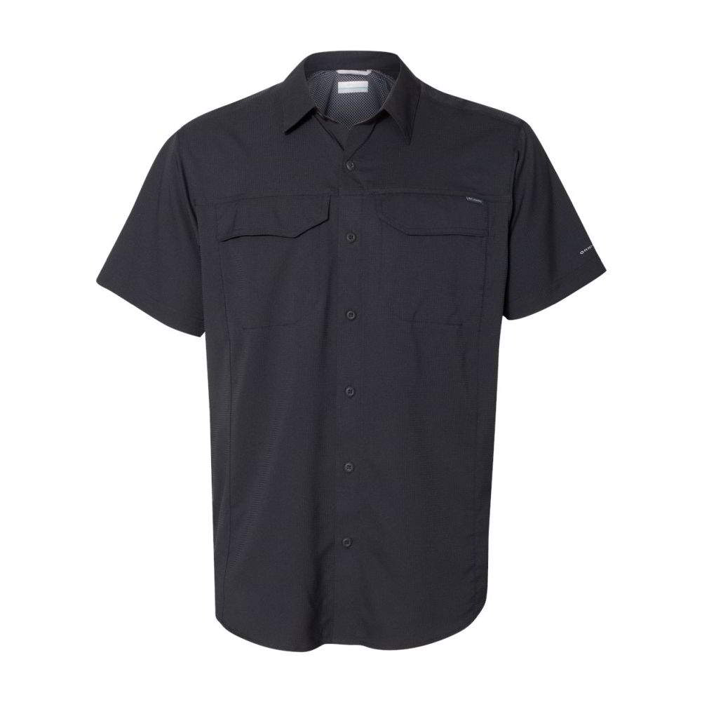 Columbia-Silver-Ridge-Lite-Short-Sleeve-Button-Up-Mens-Shirt-165431 thumbnail 5
